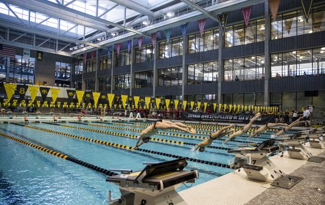 Photos: Iowa swim and dive vs. Northwestern/Wisconsin (1/19/19)