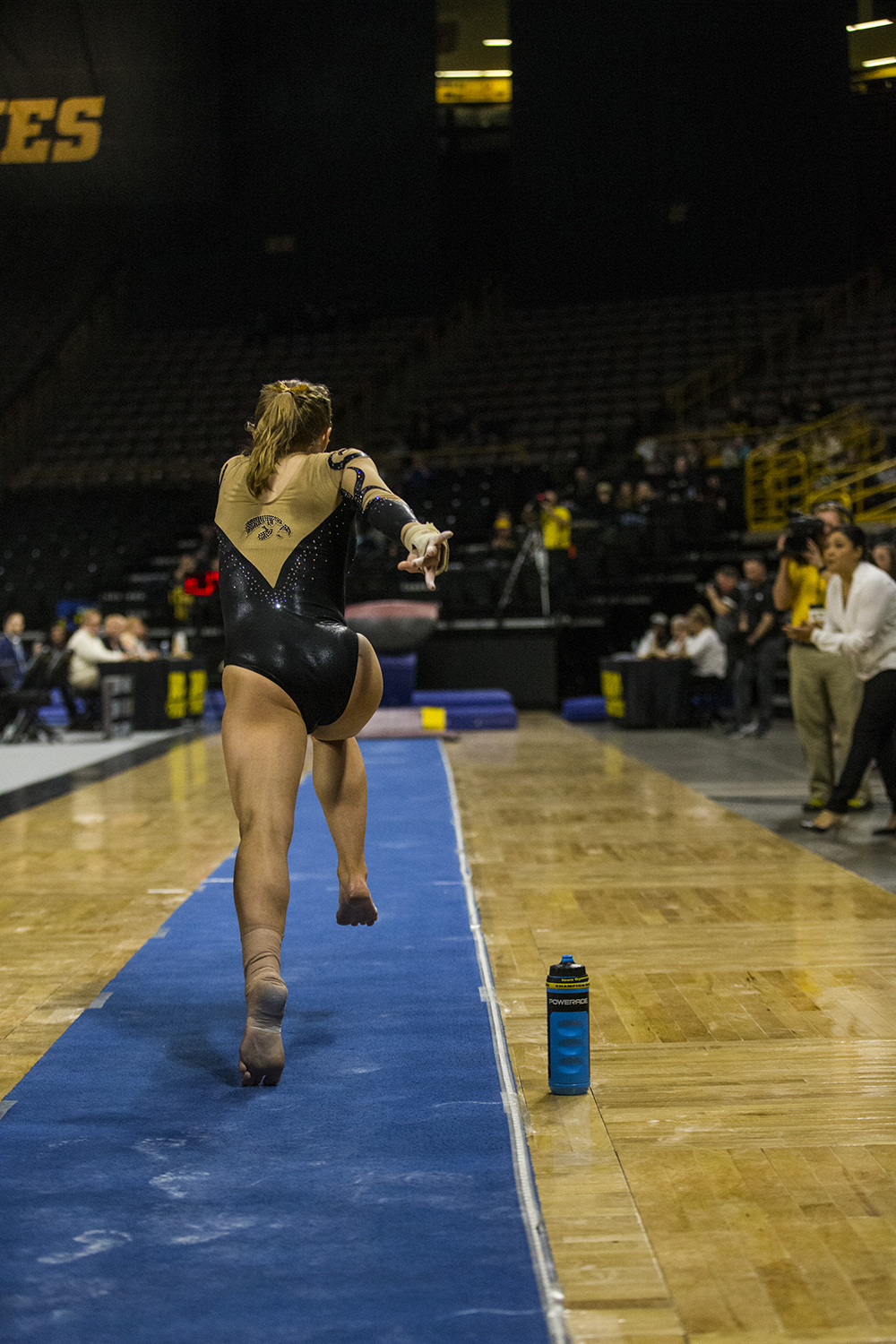 Iowa+gymnast+Lauren+Guerin+runs+towards+the+vault+during+women%27s+gymnastics+vs.+SEMO+at+Carver-Hawkeye+Arena+on+Friday%2C+January+11%2C+2019.+The+GymHawks+defeated+the+Redhawks+