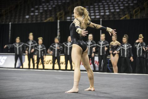 Former Hawkeye gymnast named to Canadian National Team