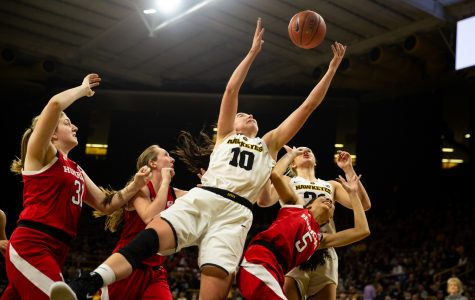 Photos: Iowa women's basketball vs. Nebraska Huskers (1/3/19)