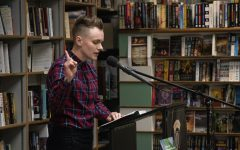 Nonbinary author Sandy Allen sparks conversation on mental health at Prairie Lights
