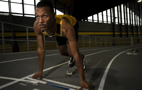 Competitive fire fuels Iowa men's track during road season