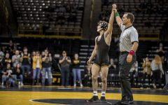 DeSanto looks to be third Hawkeye to top Rutgers' Suriano