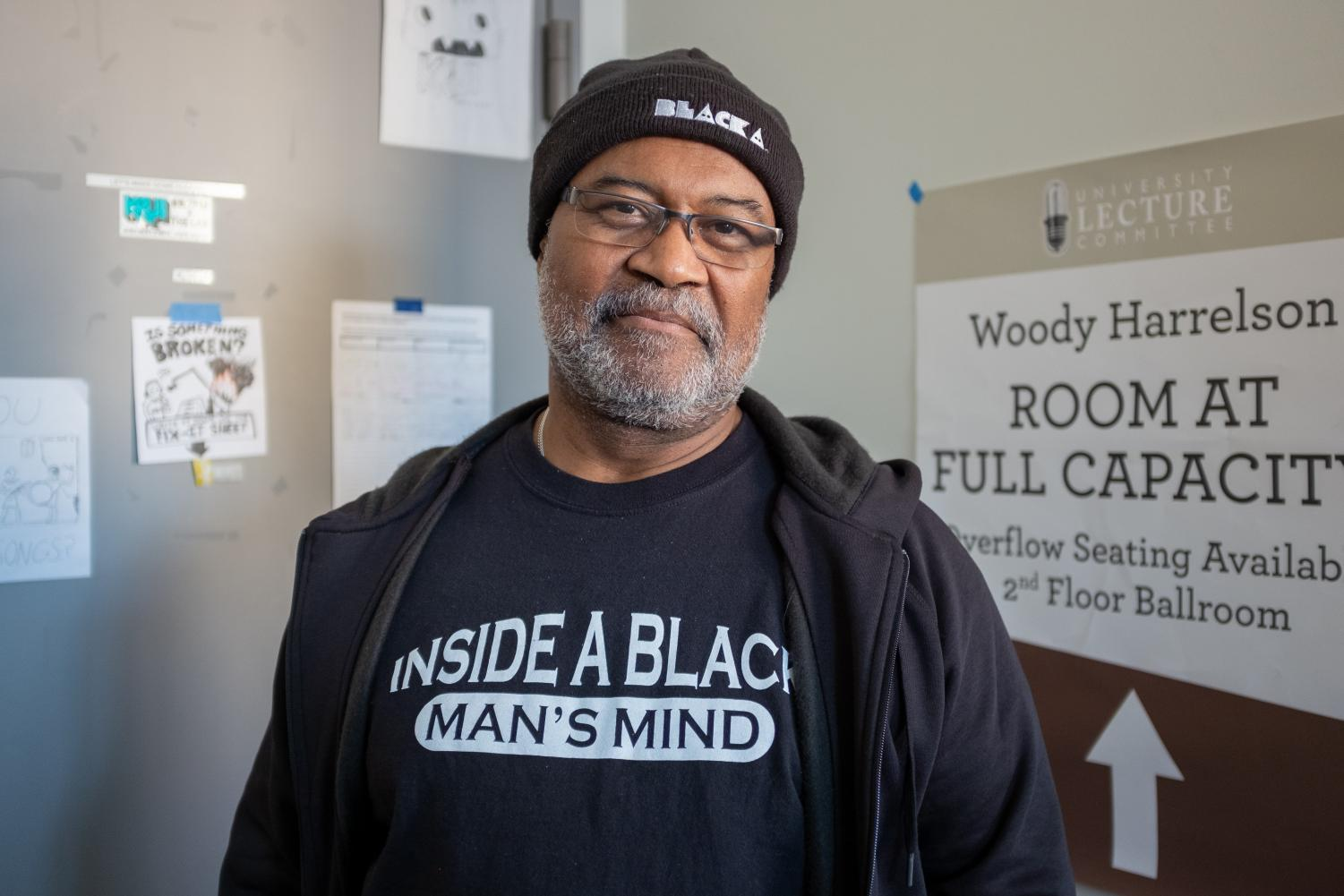 Ron Stallworth poses for a portrait on Wednesday, January 23. Stallworth, whose memoir