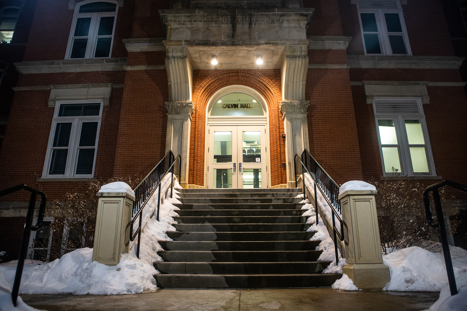 Calvin Hall is seen on Wednesday, January 23, 2019.
