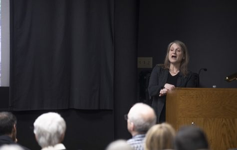 Second provost finalist visits campus, discusses issues facing higher education