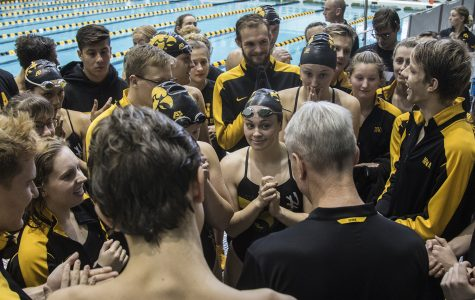 Iowa swimming and diving ready to open second half after break