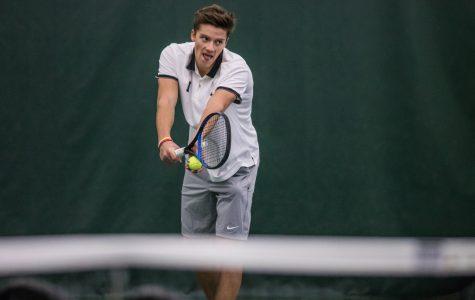 Photos: Iowa men's tennis vs. Western Michigan, Marquette (1/19/2019)