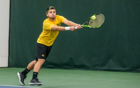Photos: Iowa men's tennis vs. East Tennessee State, Butler (1/25-27/2019)