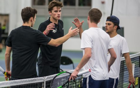Hawkeye tennis aims to remain perfect this weekend