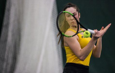 Photos: Iowa women's tennis vs. Xavier, UNT (1/18-20/2019)
