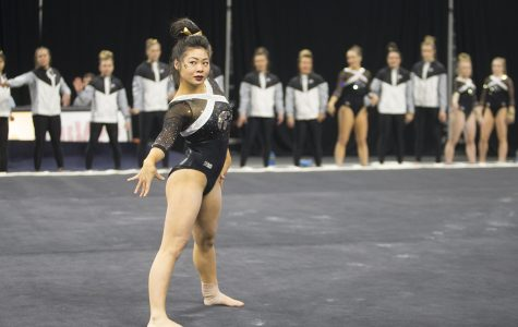 Iowa gymnastics' Kaji finds leadership through unexpected injury