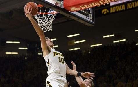 Photos: Iowa men's basketball vs. Michigan (02/01/19)
