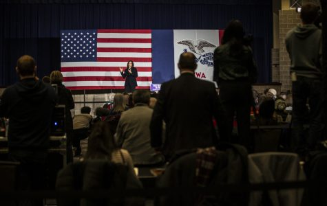 Photos: Sen. Kamala Harris visits Eastern Iowa