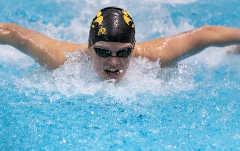 Iowa swimming taking advantage of time off