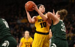 Iowa women's hoops catching fire with win over Ohio State