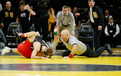 Photos: Iowa Wrestling vs. Maryland (2/8/19)