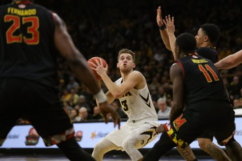 Fernando's Putback Lifts No. 24 Maryland Over No. 21 Iowa