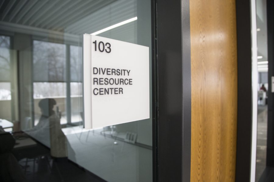 The+Diversity+Resource+Center+is+seen+in+the+College+of+Nursing+Building+in+Iowa+City+on+Monday%2C+February+25%2C+2019.+The+nursing+program+prioritizes+seven+pillars+of+diversity+to+implement+into+their+program.+
