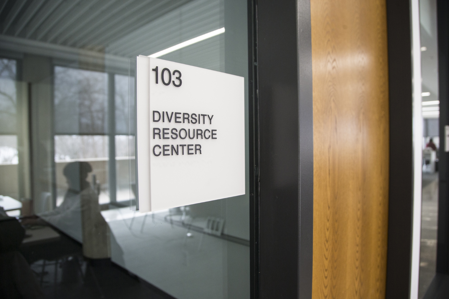 The Diversity Resource Center is seen in the College of Nursing Building in Iowa City on Monday, February 25, 2019. The nursing program prioritizes seven pillars of diversity to implement into their program.