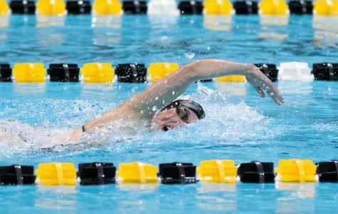 Hawkeye swimming finishes 10th at Big Tens