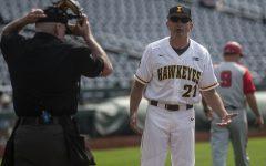 Hawkeye baseball leans on new faces to continue success against Cowboys