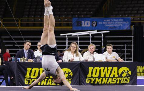 Iowa gymnastics set for separate battles