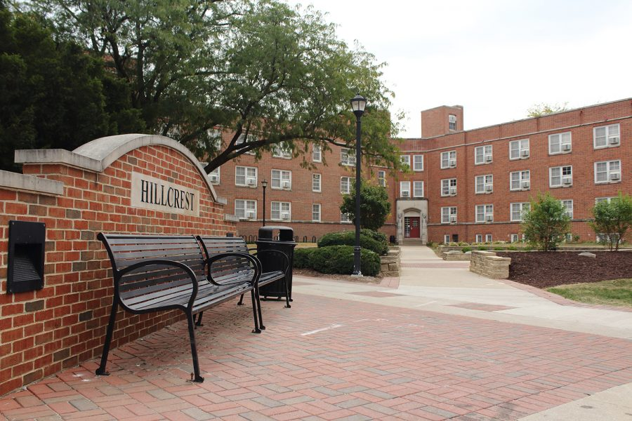 Hillcrest+as+seen+on+Tuesday%2C+Oct.+3%2C+2017.+Hillcrest+is+one+of+the+University+of+Iowa%27s+Residence+Halls.+