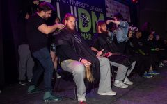 Iowa football's Paulsen brothers lose their locks at Dance Marathon