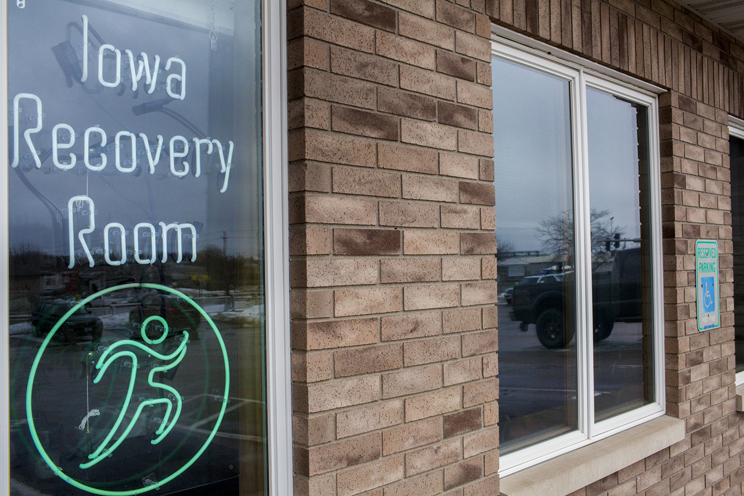 The Iowa Recovery Room is seen on Wednesday, February 6th, 2018. The Iowa Recovery Room is a clinic specializing in non-traditional treatment for mental health issues such as anxiety, depression and PTSD.