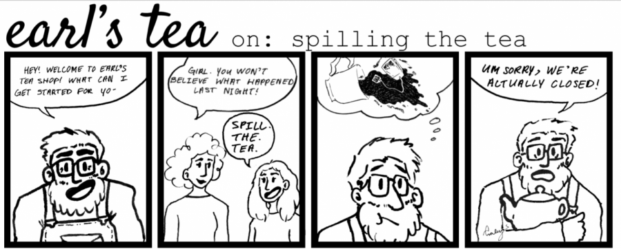 Cartoon: Earl's Tea On: Spilling the Tea
