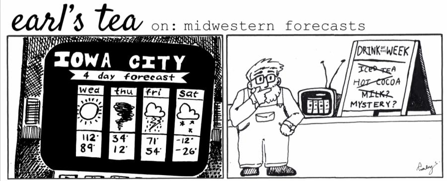 Cartoon: Earl's Tea on Midwestern forecasts
