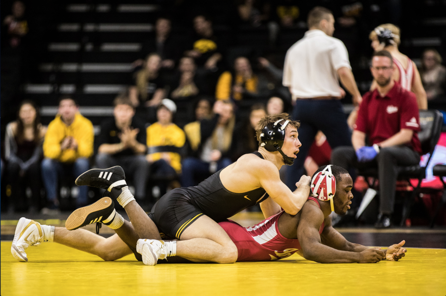 Iowa+wrestling+posts+solid+numbers+as+regular+season+ends