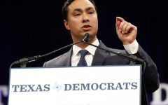 U.S. Rep. Joaquin Castro speaks at the Democratic State Convention on June 27, 2014, in Dallas at the Kay Bailey Hutchison Convention Center.