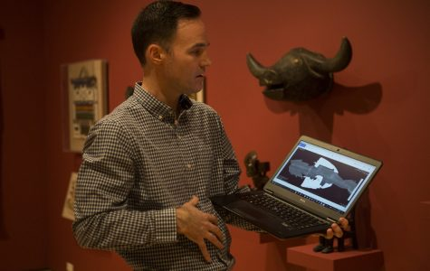 Stanley Museum of Art, UIHC use CT scans on African art