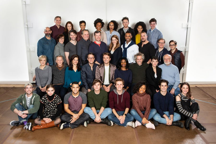 The+second-year+cast+of+Broadway%27s+%E2%80%9CHarry+Potter+and+The+Cursed+Child%E2%80%9D+pose+for+a+photo.