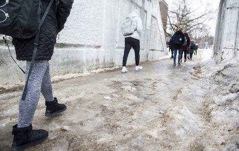 Iowa City depletes salt stores