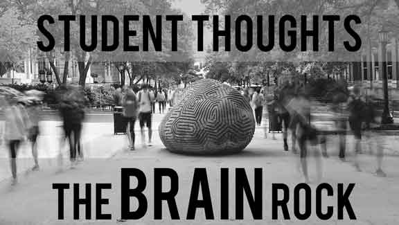 Student Thoughts: The Brain Rock (Ep.1)