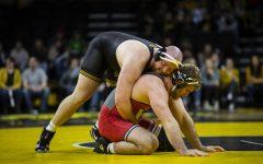 Iowa wrestling's Stoll handles adversity