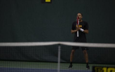 Photos: Iowa Men's Tennis vs. Miami, Utah