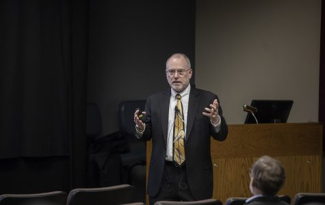 Final vice president for Research candidate visits UI