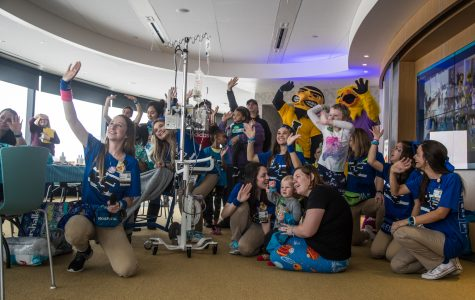 Group brings Dance Marathon to the kids at UI Stead Family Children's Hospital