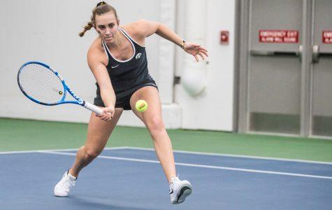 Photos: Iowa women's tennis vs. Penn State (2/24/2019)