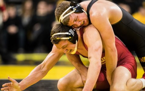 Photos: Iowa wrestling vs. Indiana (2/15/2019)