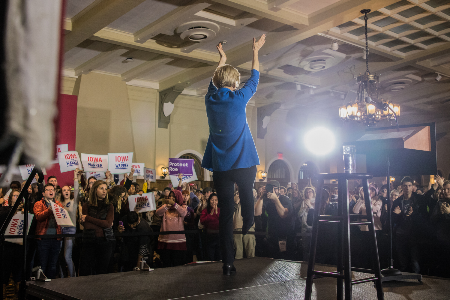 Sen.+Elizabeth+Warren+%28D-Mass.%29+speaks+during+a+campaign+rally+in+the+IMU+on+Sunday%2C+February+10%2C+2019.