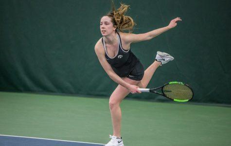Hawkeye tennis continues midseason struggles