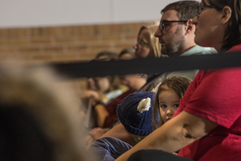 Children+listen+to+Sen.+Elizabeth+Warren+%28D-MA%29+speak+during+a+campaign+rally+in+Cedar+Rapids%2C+IA%2C+on+Sunday%2C+February+10%2C+2019.+