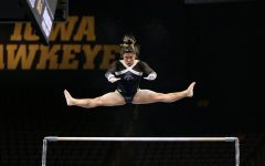 Iowa gymnastics' Chow embraces standing out
