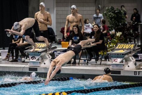 Hawkeyes swim to more personal records on Day 3 of Big Ten Championships