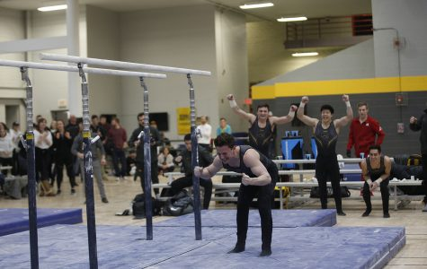 Iowa men's gymnastics clinches share of Big Ten title